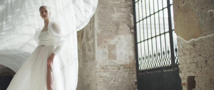 Imagen del rodaje de 'Forever Love', colección nupcial de Fernando Claro - productora audiovisual moda