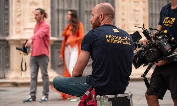 Empresa de fotografía andaluza en el making of de un spot para Puerto de Indias