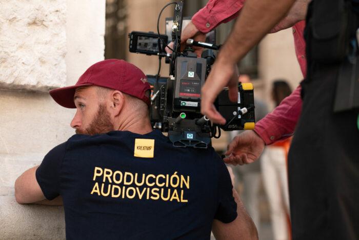 Empresa de fotografía andaluza en un making of