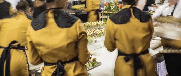 Catering Alfardos vídeo corporativo restaurante
