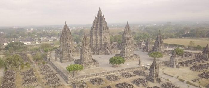 Paisajes de Indonesia grabadas con dron