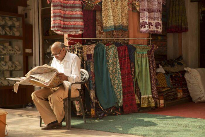 tienda de ropa artesanal como fotografía de viajes