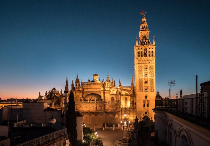 Catedral y Giralda de Sevilla como fotografía de viajes