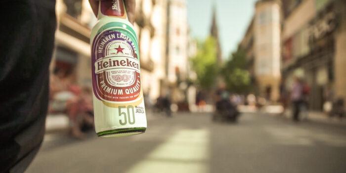 fotografia corporativa de Heineken Jazzaldia