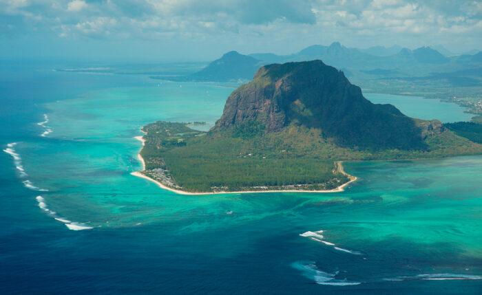 Isla Mauricio como fotografía de viajes