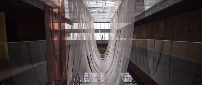 Edificios durante el rodaje como productora audiovisual arte en No Ego