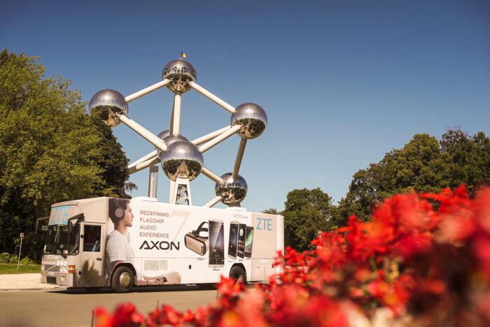 fotografia corporativa para ZTE EUROPEAN TOUR