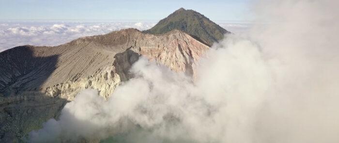 paisaje de Indonesia como fotografía de viajes